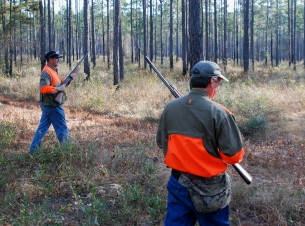 Florida Quail hunting in Northwest Florida Panhandle, Bass Fishing, Hunting Lodge, Archery